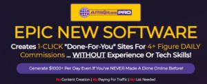 AffiliSites PRO Review - Sales Page Hype
