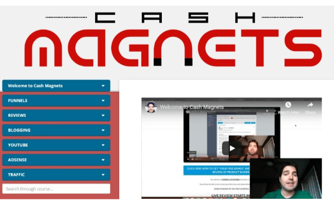 Cash Magnets Review - Inside Training