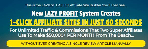 Lazee Profitz - Sales Page Claims