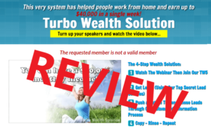 Turbo Wealth Solution Review