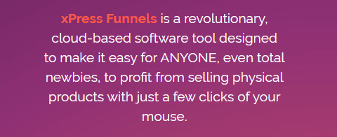xPress Funnels Review - Sales Page