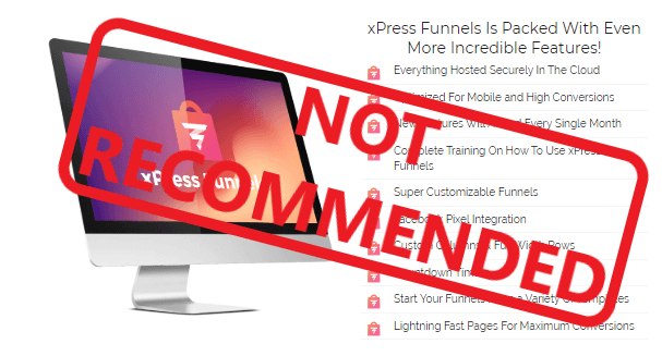 eXpress Funnels Review - Not Recommended