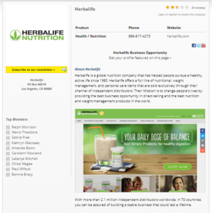 Be The Boss Network Herbalife Example