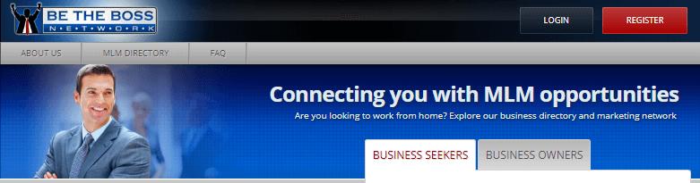 Be The Boss Network Website