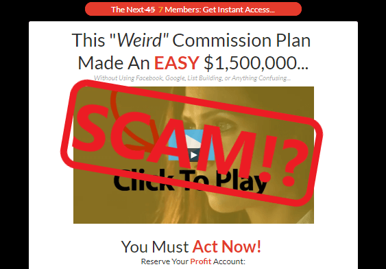 Commission Plan X Scam Review