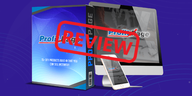 Profit Page Review