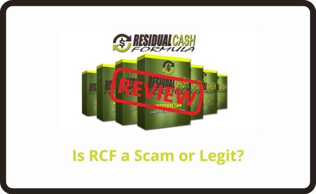 Residual Cash Formula - a Scam or Legit?