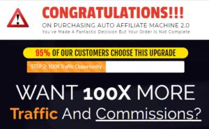 Auto Affiliate Machine 2.0 - Upsell Page