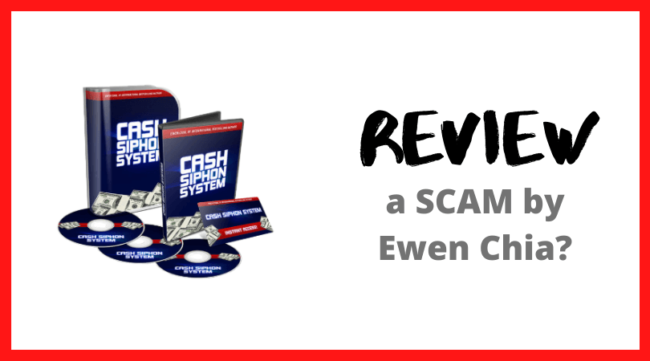 Cash Siphon System Review - a Scam?