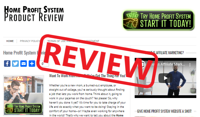 Home Profit System Review