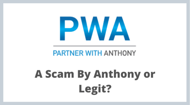 Partner With Anthony Review - Scam or Legit?
