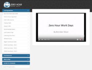 Zero Hour Work Days Dashboard