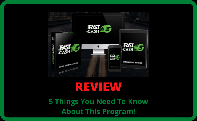 Fast Cash 5 Review - 5 Things You Need To Know About This Program