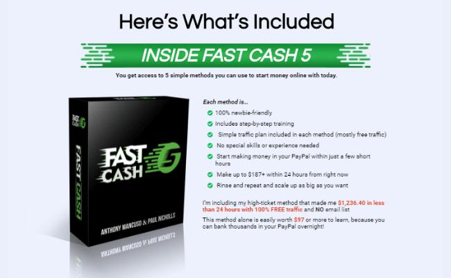Inside Fast Cash 5