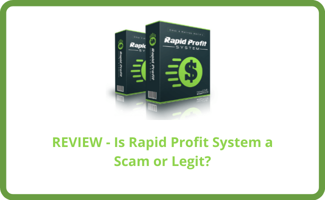 Is Rapid Profit System a Scam? - Review