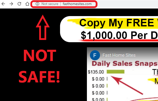 Fast Home Sites Review - Not Safe