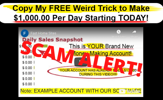 Fast Home Sites Review - Scam Alert!