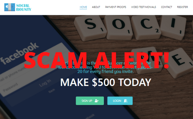 Social Bounty Review - Scam Alert!