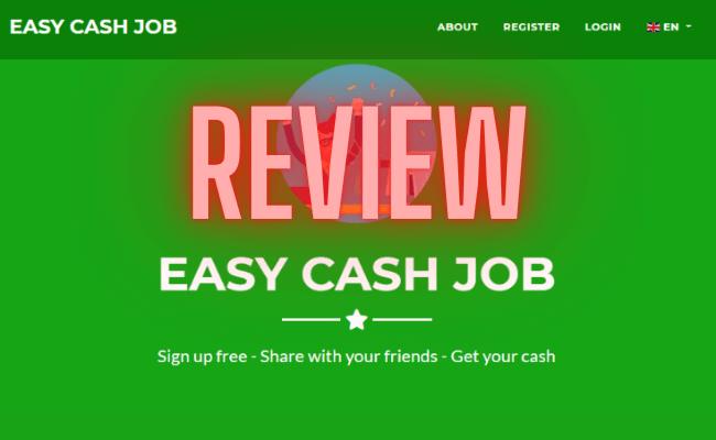 Easy Cash Job Review