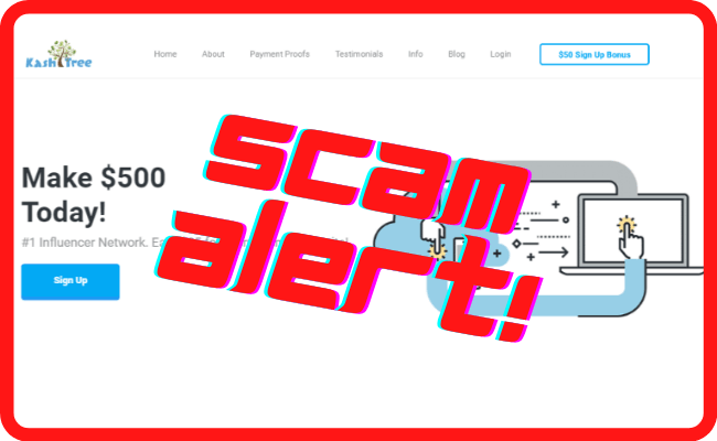 KashTree Review Scam Alert