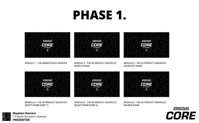 MarketPlace SuperHeroes Phase One