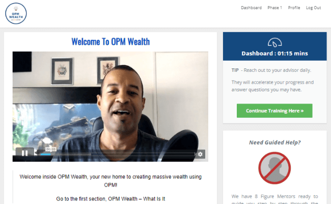 OPM Wealth Review - Members Area