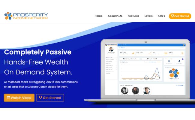 Prosperity Income Network Website