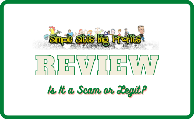 Simple Sites Big Profits Review