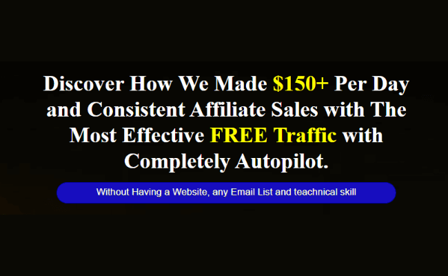 10 Minute Traffic - Sales Page