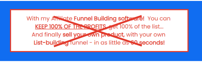 Affiliate Funnel Bots Misleading Claims