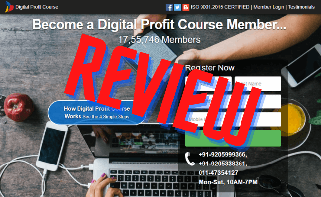 Digital Profit Course Review