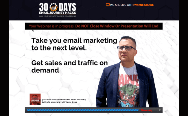 30 Days Email Marketing Journey Hacks Content