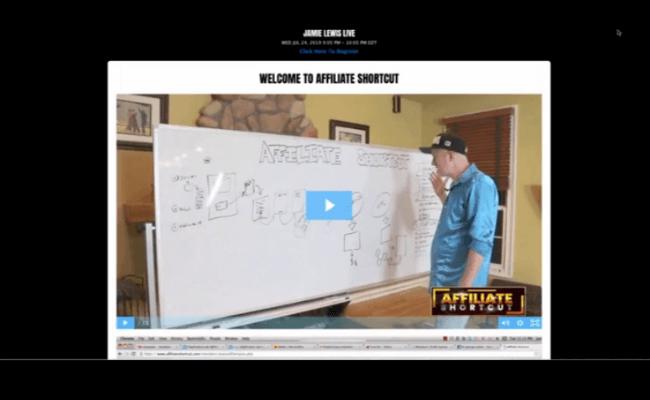 Affiliate Shortcut Video Training