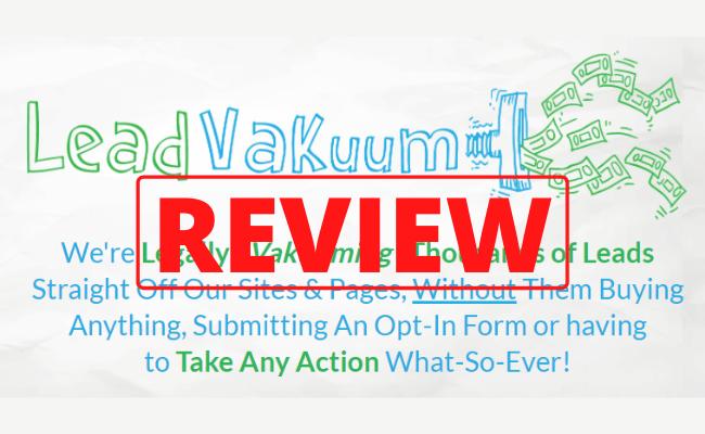 Lead Vacuum Review