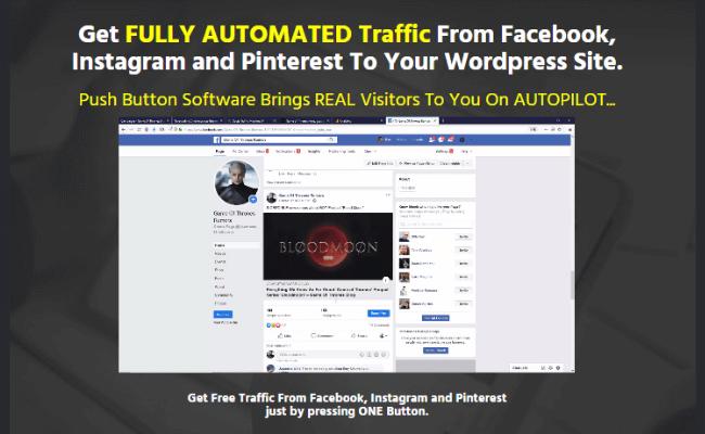 Social Traffic Machine Sales Page