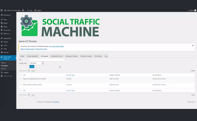 Social Traffic Machine Step 2.