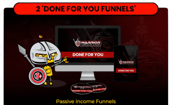 Warrior Commission Academy DFY Funnels