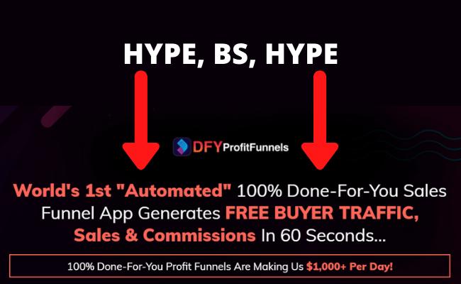 DFY Profit Funnels Hype