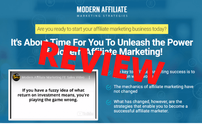 Modern Affiliate Marketing Strategies Review