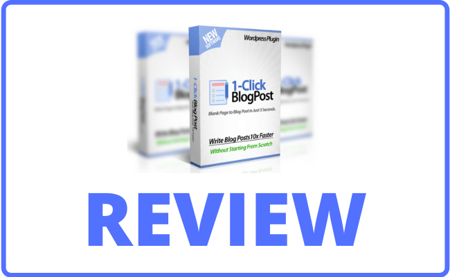 1-Click Blog Post Review