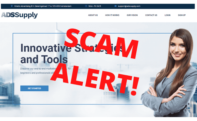 Ads Supply Scam Review