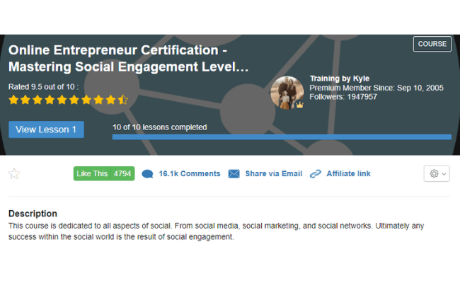 Wealthy Affiliate Review - Level 4