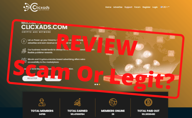 ClicXAds Review