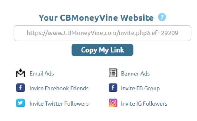 CB Money Vine Review - Affiliate Links