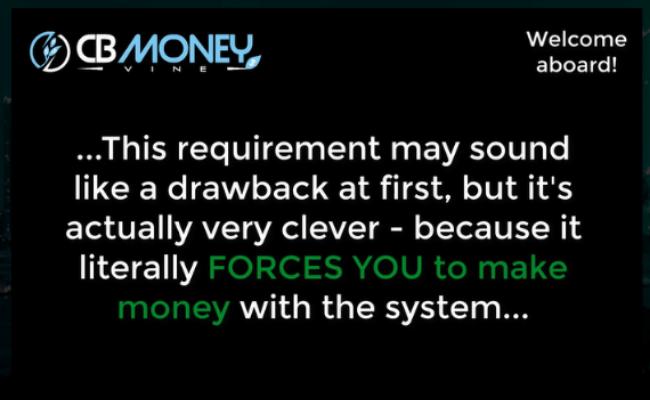 CB Money Vine Review - Dishonest Marketing