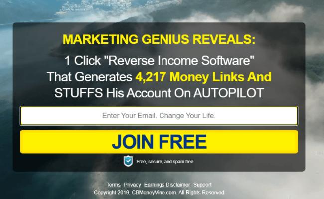 CB Money Vine Review - Free Membership