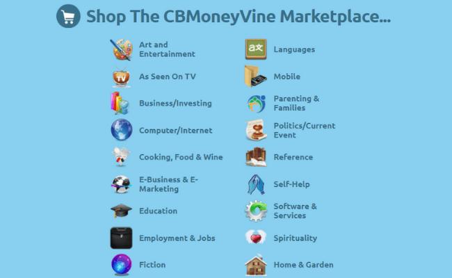 CB Money Vine Review - Marketplace
