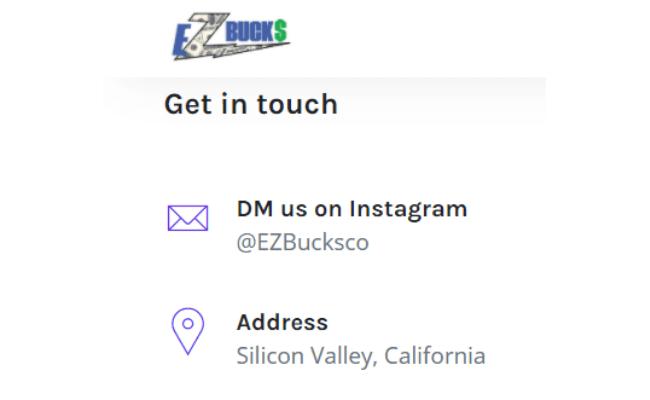 EZ Bucks Review Scam Fake Address