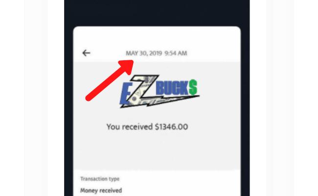 EZ Bucks Review Scam Fake Payment 2