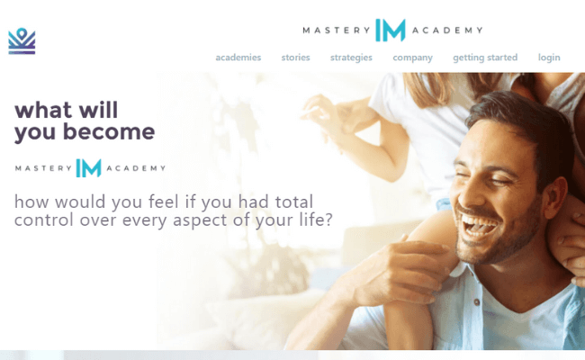 IM Mastery Academy Website